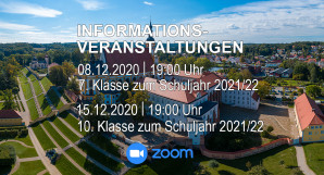 Digitale Informationsabende am Campus im Stift Neuzelle