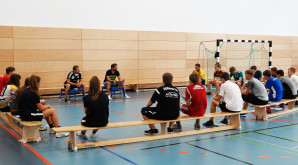DFB-Junior-Coach Workshop auf dem Campus Graphisches Viertel