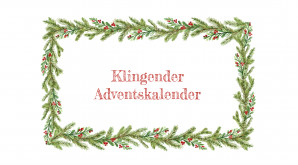 Klingender Adventskalender des Campus Graphisches Viertel der Rahn Education