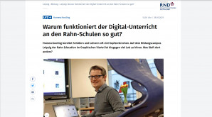 LVZ-Faktencheck zum Thema Digitalunterricht in der Rahn Education