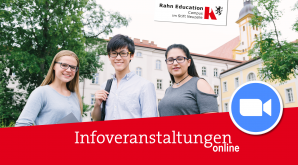 Interaktive Informationsabende am Campus im Stift Neuzelle im Februar 2021