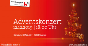 Adventskonzert am Campus im Stift Neuzelle