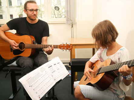 Impression from instrument group teaching